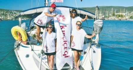 4 Kadın Denizcinin 44 Günlük Barış Turu Tamamlandı
