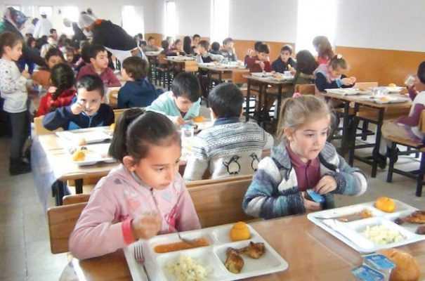 Okullarda Ücretsiz Yemek Dönemi