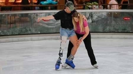 Protez Bacaklı Kardelen Sporda Engel Tanımıyor!