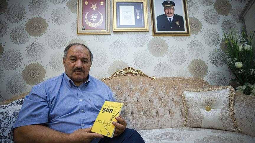 Terör Gazisi Emniyet Müdürü Hayata Şiirle Tutundu
