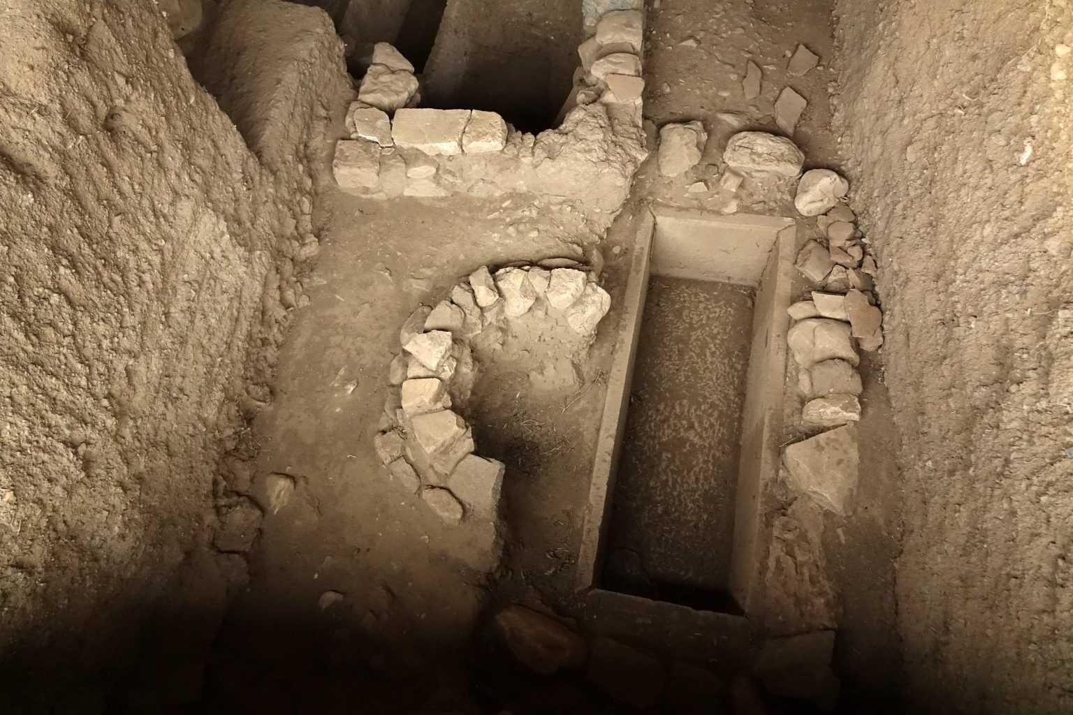 Kazdağları'nın Eteklerinde Pitos Mezarlar Bulundu