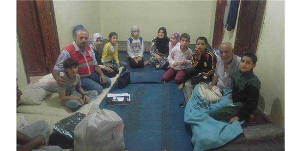 Kızılay'dan 150 Aileye Yardım