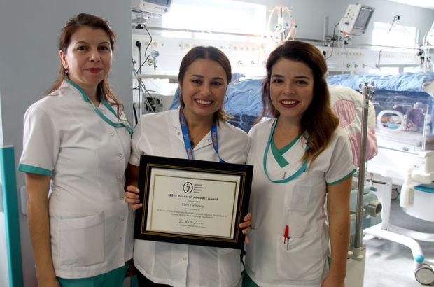 Türk Hemşireye Uluslararası Ödül