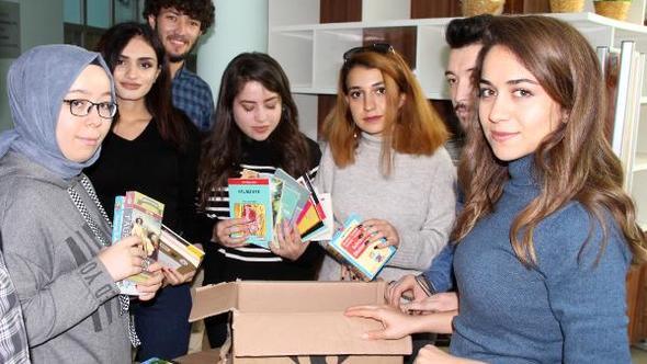 Burdur'dan Hakkari İlkokuluna 20 Koli Kitap ve Kırtasiye Malzemesi