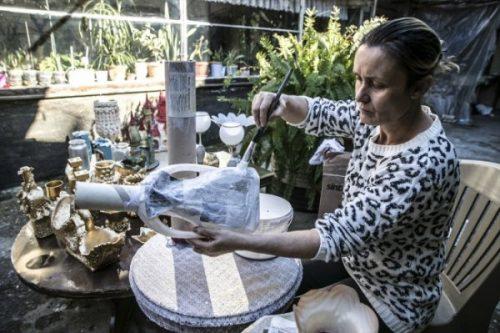Atık Malzemeleri Özel Tasarım Ürünlere Dönüştürüyor