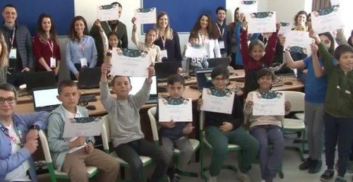Soma'da Çocuklara Kodlama Eğitimi