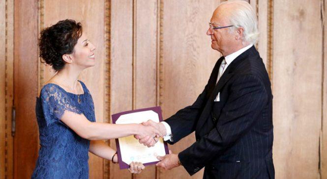 """İsveç'in """"Kraliyet Hanedanı"""" Ödülünü Türk Akademisyen Kazandı"""