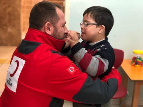 Türk Kızılayı Kilis'te Otizmli Çocukların Yüzünü Güldürdü
