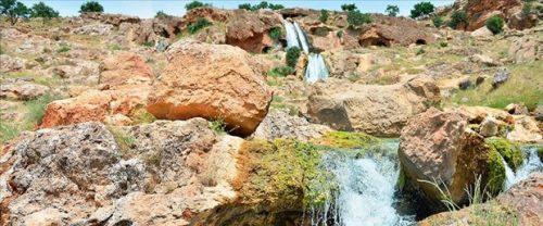 Mardin'deki Gap Şelalesi Tabiat Parkı Turizme Kazandırılıyor