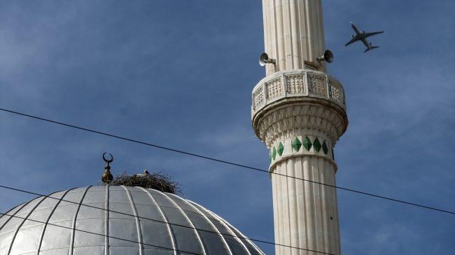 """19 Yıldır Leyleklerin Yuvası """"Nuryağdı Camii"""""""