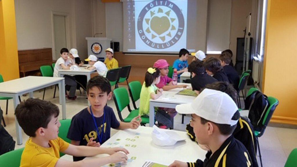 Öğrencilerinden TEGV'e Destek