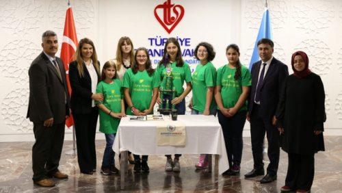 Türk Öğrenciler ABD'de Ödül Aldı