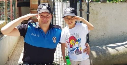 "Küçük Yusuf'a ""Polis Bebeği"" Sürprizi"