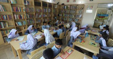 TİKA Pakistan'da 5 Bin Kitaplık Çocuk Kütüphanesi Açtı