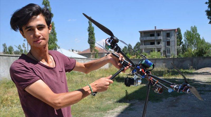 Hurdadan Drone Yapan Genç Teknofest'e Katılıyor
