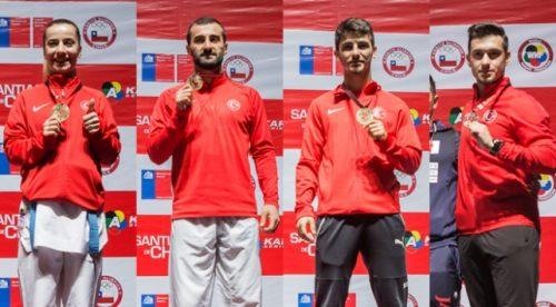 Karate Milli Takımı'ndan 4 Madalya