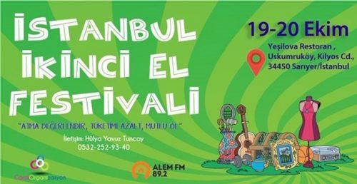 """""""Atma Değerlendir, Doğaya Katkıda Bulun"""" (İstanbul 2. El Festivali)"""