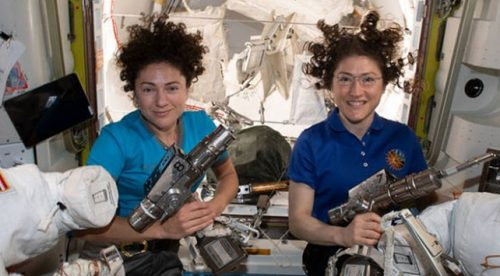 NASA'dan Bir İlk: Sadece Kadınlardan Oluşan Ekip Uzay Yürüyüşü Yaptı
