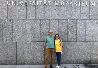 Ayşe Cemre, 13 yaşında Mozart'ın Okuluna Kabul Edildi