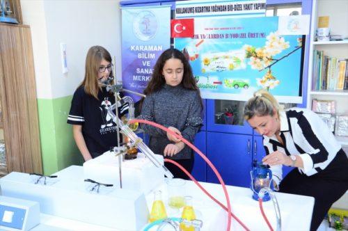 Öğrenciler Atık Yağları Enerjiye Dönüştürdü