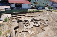 Bursa'da İnşaat Kazısı Sırasında Tarihi Hamam Bulundu