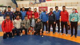 Milli Güreşçiler Polonya'da Şampiyon Oldu